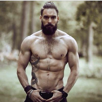 Dating website guys with beards and muscles