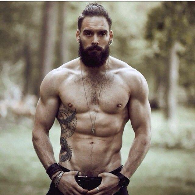 Is beard and muscle a hot combination?