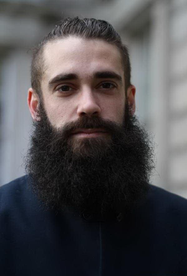 What do you think of curly beards?
