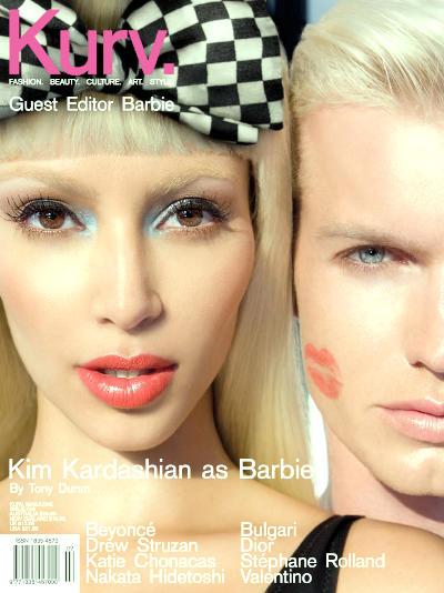 Do you think Kim Kardashian looks better with fairer skin(no fake tan, less makeup)?