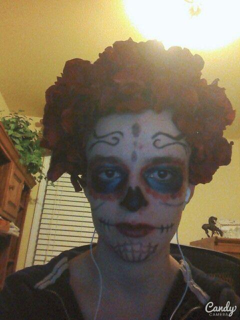 what do you think of my Halloween costume makeup?