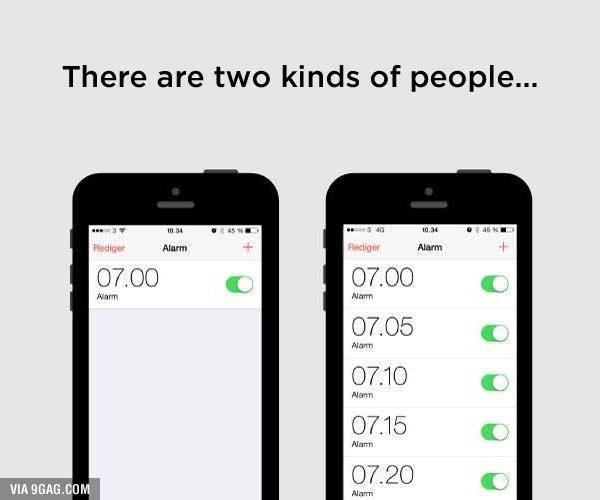 Which kind of person are you?