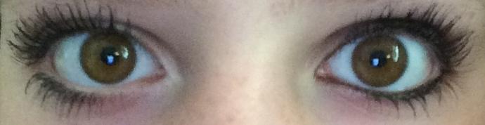 Which eye's makeup do you prefer?