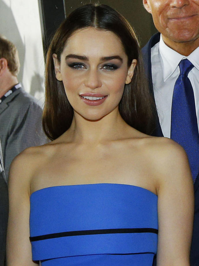 Emilia Clarke is named sexiest woman alive according to Esquire, agree?