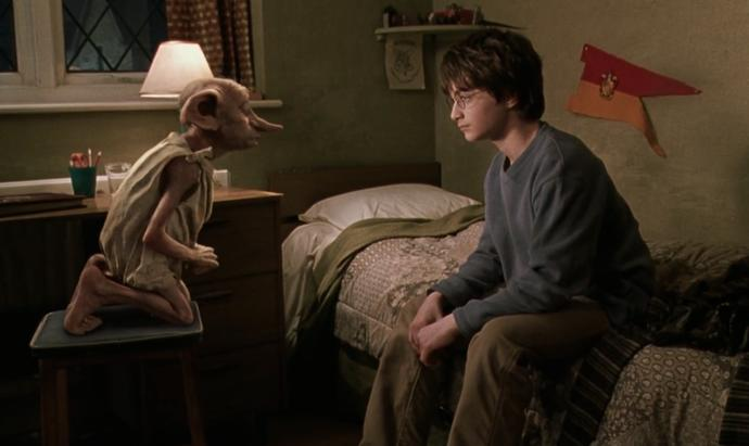 If you were Dobby's master, what would you do?