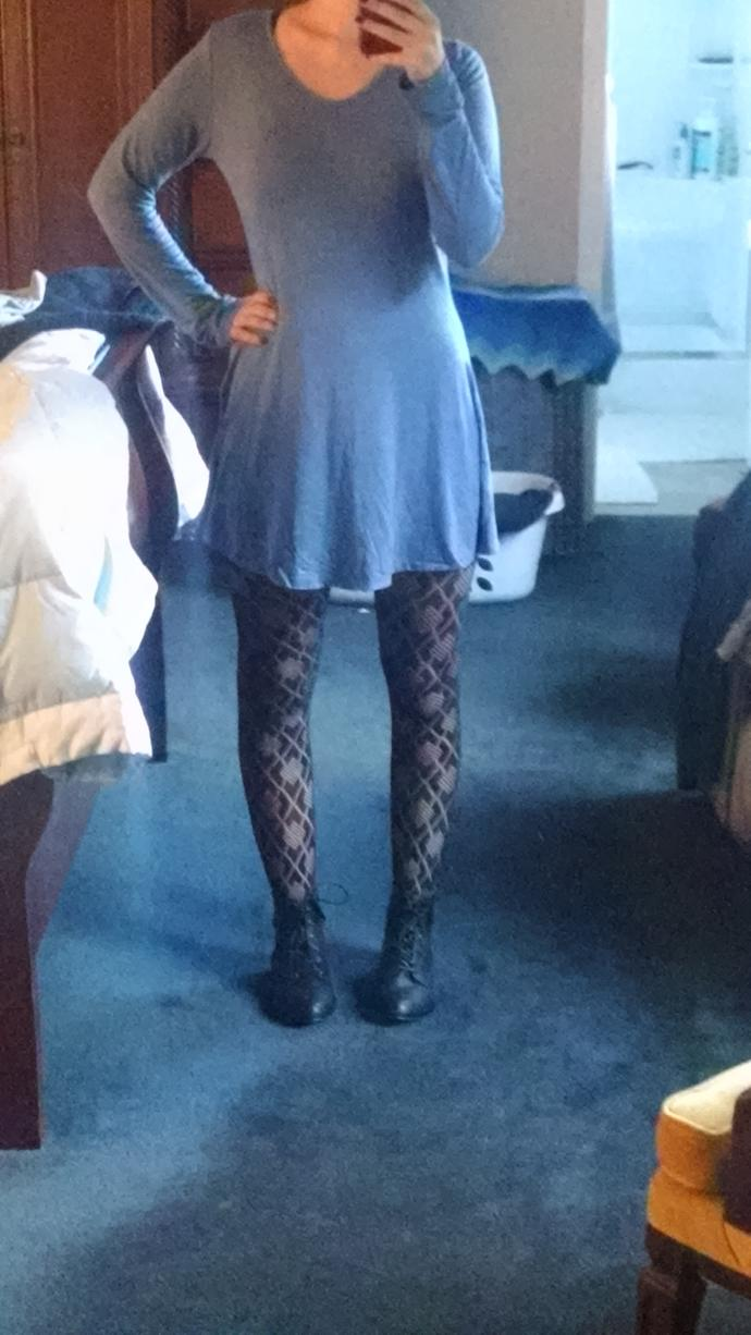 2nd try at wearing a dress in autumn-- yay or nay?