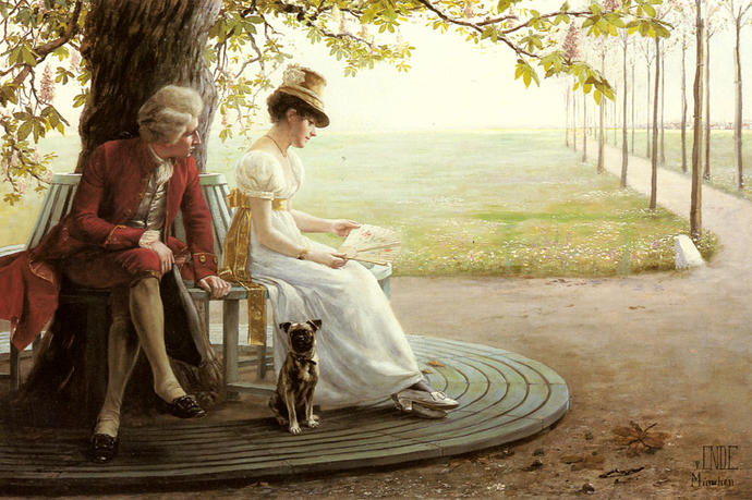 What is the traditional way of courtship in your country?
