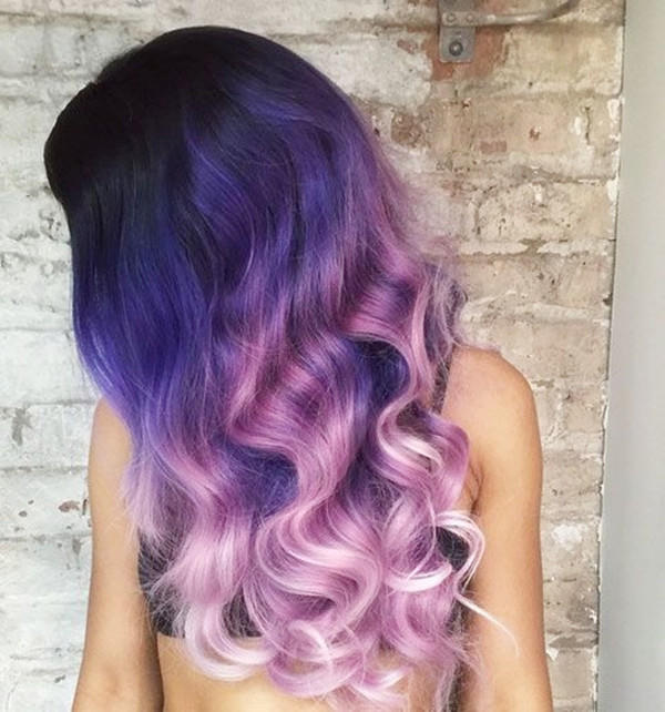 Two choices : Which colour would you choose to dye your hair to?