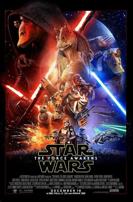 What do you think of the official poster for Star Wars?