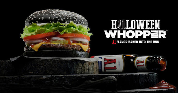 Has anyone tried the Halloween burger? If not, would you try it?