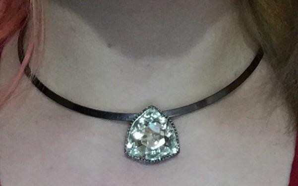 What do you think of my necklace?