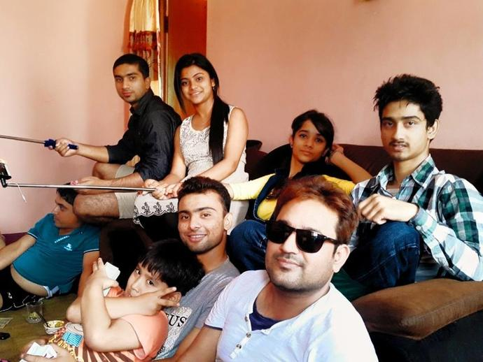 I am in green shirt . Rate me :P ?