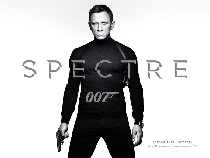 Who else is excited for Spectre?
