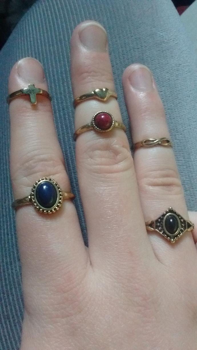 What do you think of my rings?