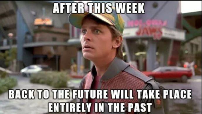 What is your favorite quote or scene from the Back To The Future series?