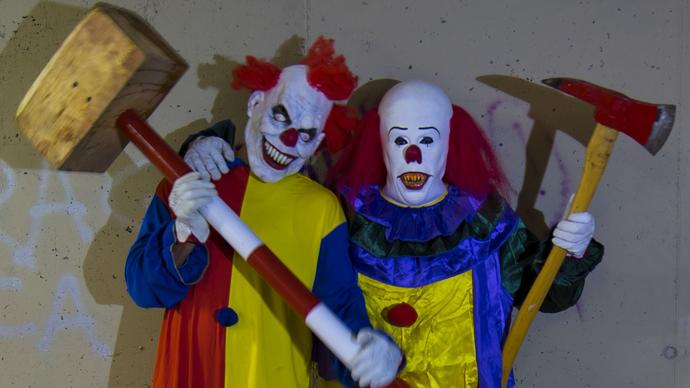 So ehh...What's your relationship with clowns?