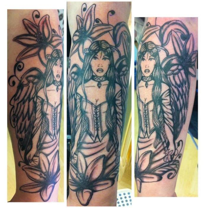 What do u think of my tattoos? do u think woman should have them?