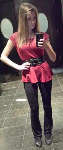Do I look chubby?