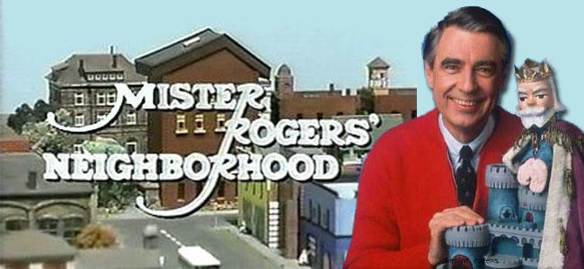 Who remembers Mr. Rodger's Neighborhood?