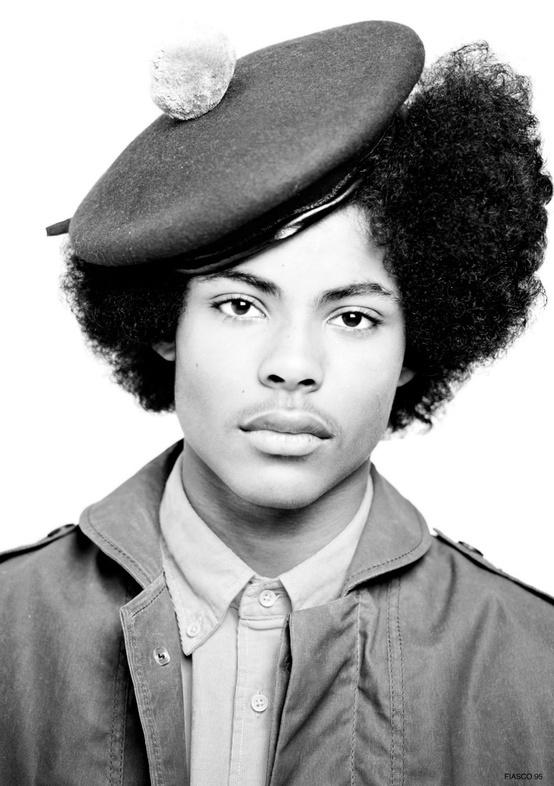 Does anyone else think young Huey P. Newton was fine as HELL?