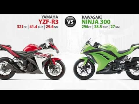 Which one do you guys like better? The Kawasaki or the Yamaha?