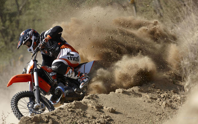 Do you ride motorcycles or dirt bikes?