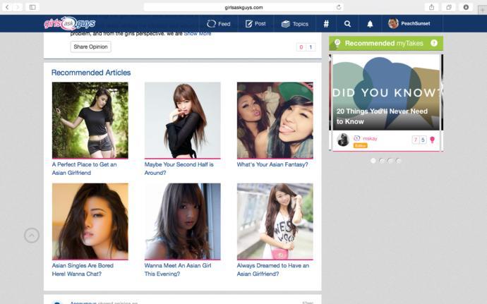Um, Asians are bombarding GaG? 😂?