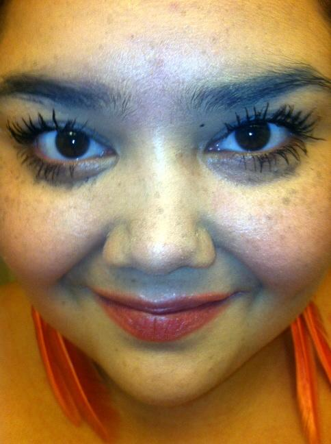 Can you tell my eyelashes are real or do they look fake?