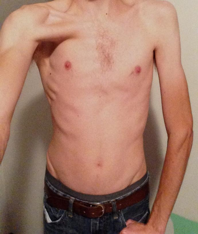 Girls, rate my chest/arms?