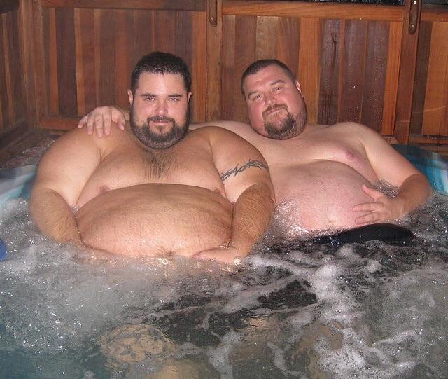Секс толстеньких мужиков