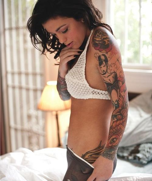 Are a lot of Tattoos on Girls Hot or Not?
