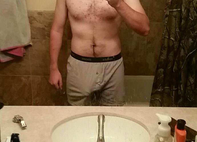 Girls, Working on getting my abs in shape. Think I'm starting to get some definition. Thoughts?