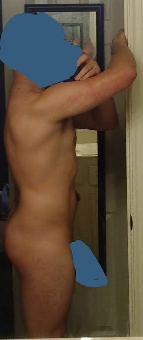 NSFW. Rate the side view of my body, please?