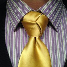 which tie knot out of these is looks nice?