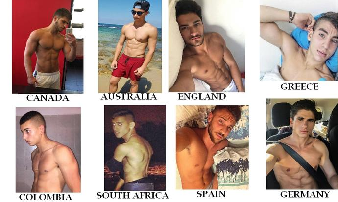 Girls, who is the most sexy men ??