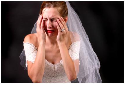 For those of you who are married, if your SO were to sleep in or just somehow not arrive to the ceremony, what would you have done?