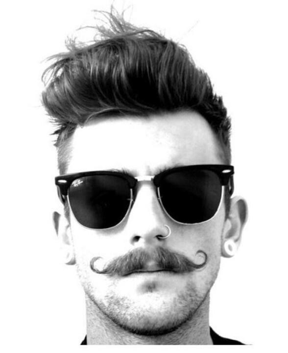Girls, would you date a guy with a curly mustache?