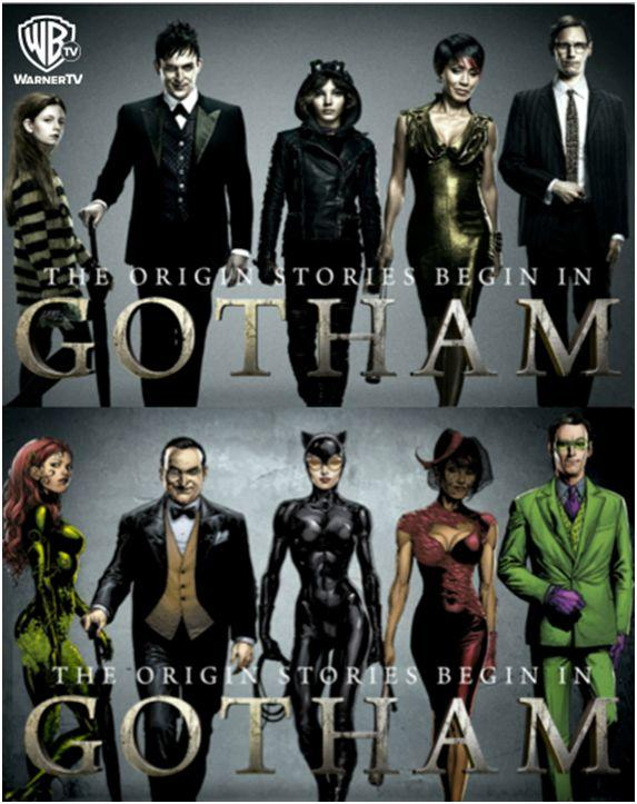 Have you seen the TV show Gotham, Who do you like?