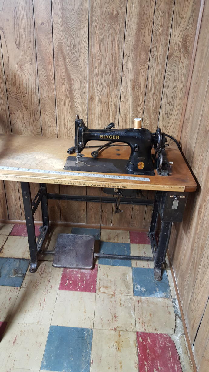 Anyone know how much this sewing machines worth?