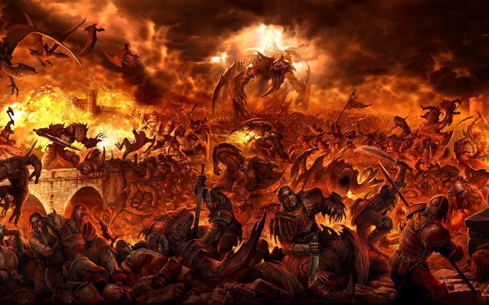 If SATAN had reserved a special place for you in HELL, would you be flattered?
