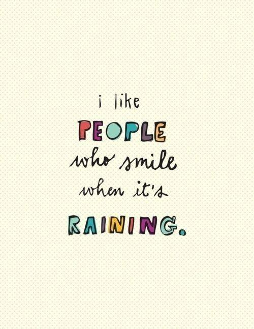 Why does everybody hate rain?