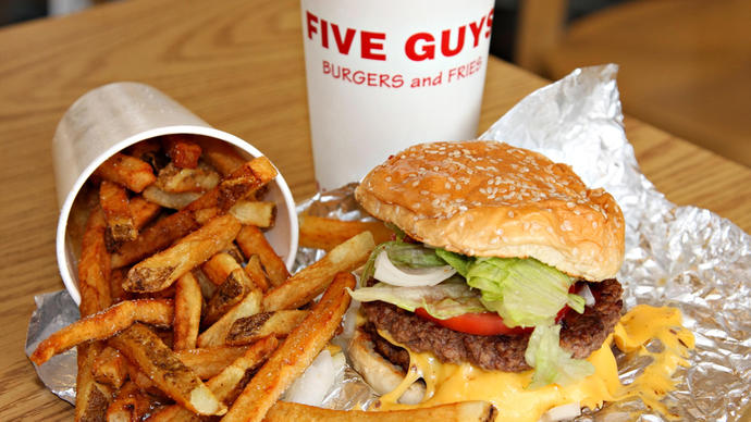 Do you like Five Guys? What do you like about it? Do you know a better place🍔?