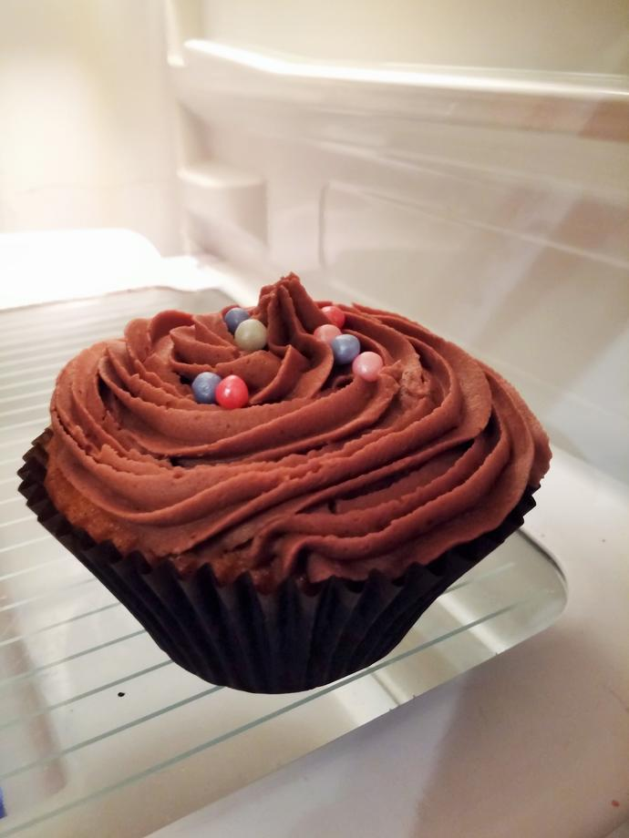 What do you think of my cupcake?