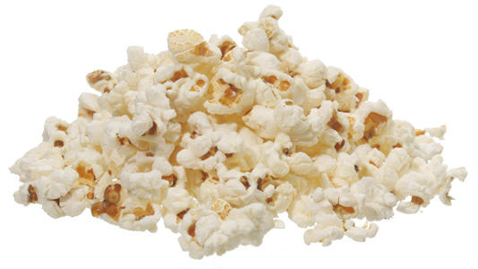 Have you ever noticed that pop-corn looks like a used mini toilet paper?