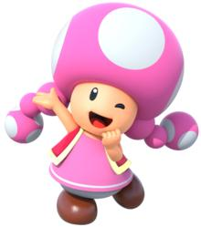 Which color TOAD do you think deserves to be with TOADETTE?