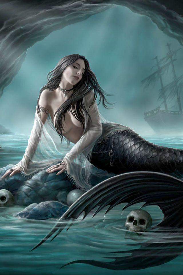 When you think of a siren, what do you think that they look like?