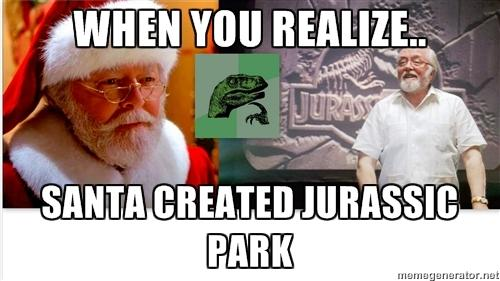 Only Jurassic Park fans will get this?