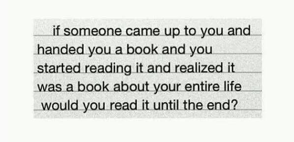 Would you continue to read it?