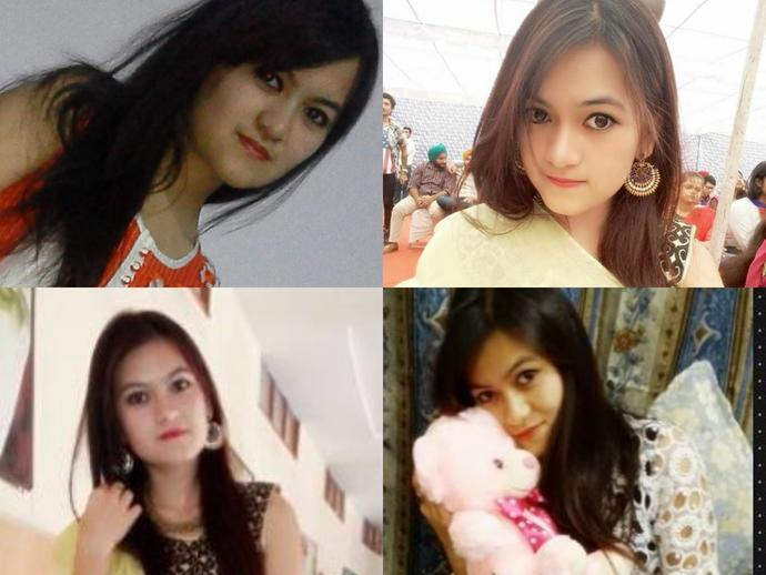 Who among these 2 girls has a prettier face?