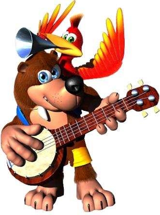 I was just playing Banjo-Kazooie. Who remembers that game?
